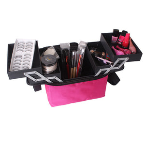 compact makeup travel case