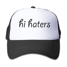 Trucker Hats Baseball Cap Tumblr Snapback Hi Haters Children Girls Boys Bone Caps Tumblr  Cap Hisper Mesh Hat Unisex