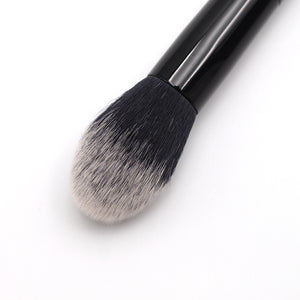 Fashion Makeup Tattoo Artist Super Soft Tipped Synthetic Bristles Unique 2-in-1 Shade Light Angled Contour Highlighting Brush