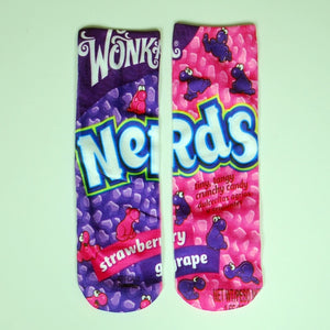 UNIQUE NOVELTY FASHION LONG SOCKS