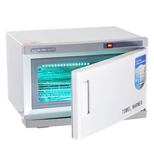Load image into Gallery viewer, 2 in 1 Hot Towel Warmer Cabinet w/ UV Sterilizer Spa Hair Beauty Salon Equipment Health