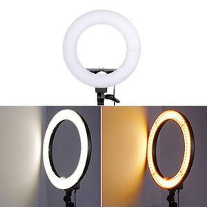 LED Ring Light w/ Stand Dimmable 5500K Light Kit for BEAUTY Camera, Smartphone, YouTube, Photography, Video