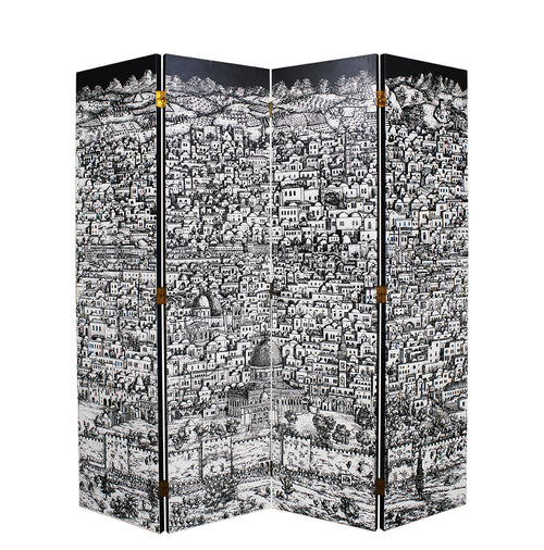 Jerusalem Folding Screen, Piero Fornasetti