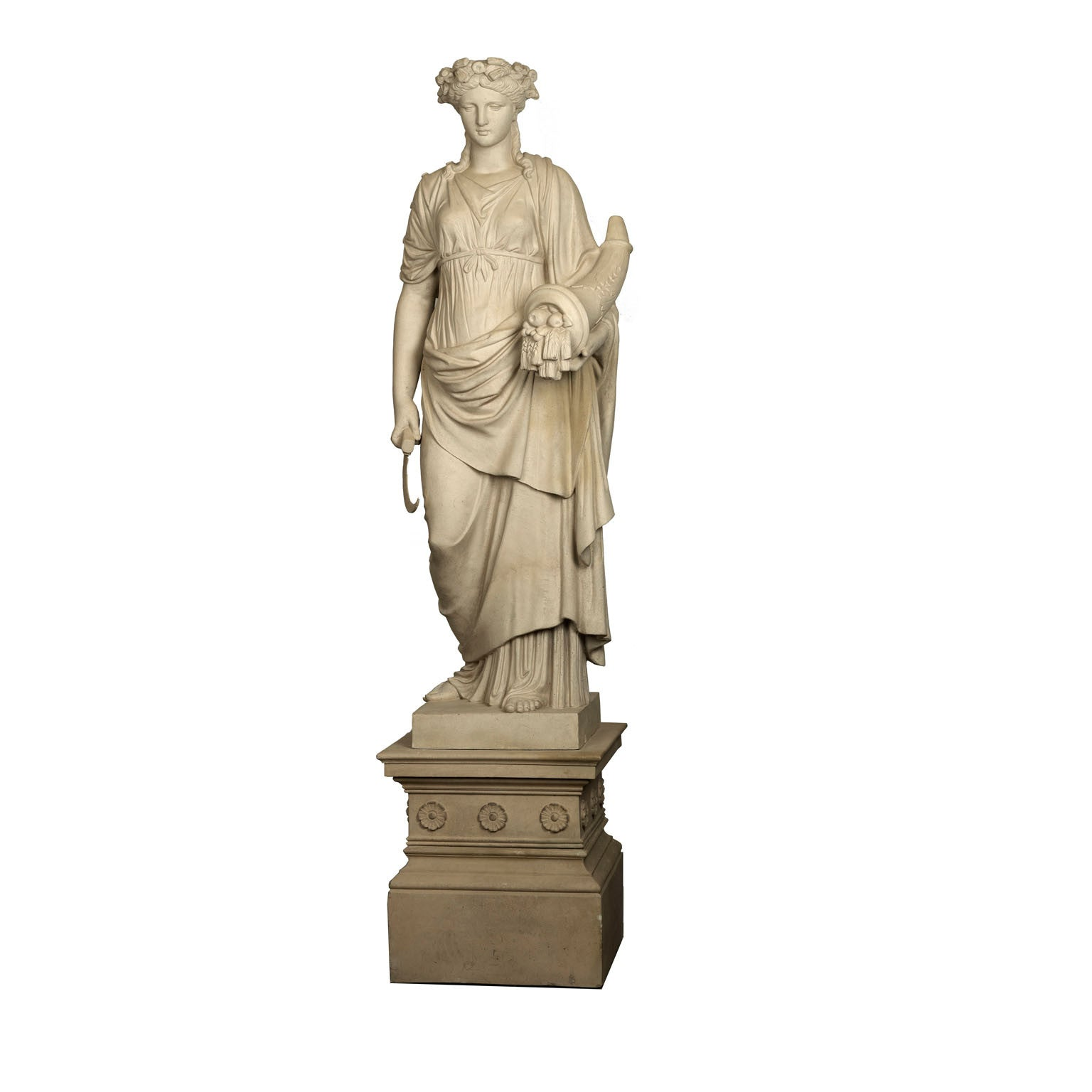 Charlottenburg factory Terracotta statue by E March Sohne