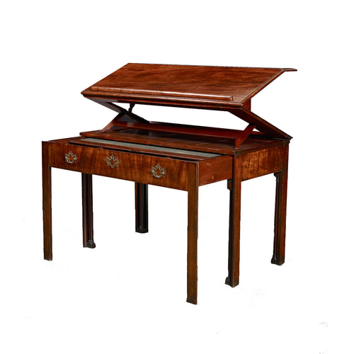 George III mahogany Architect's Table