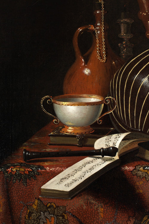Vanitas Still Life Attributed to Pieter Gerritsz van Roestraten