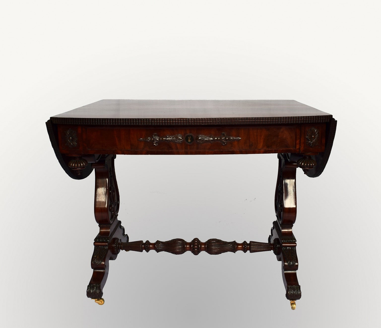 Friedrich Wilhelm IV period mahogany Sofa Table