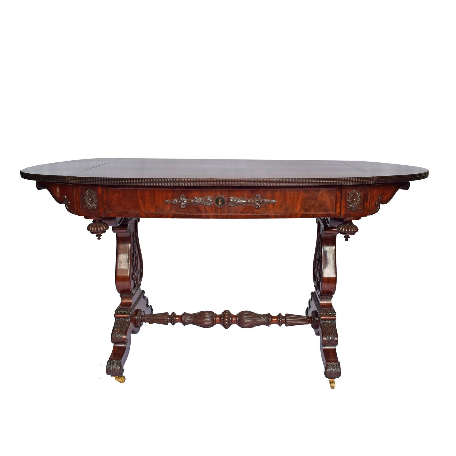 A rare mahogany Sofa Table by Friedrich Wilhelm IV period [1840–1861]