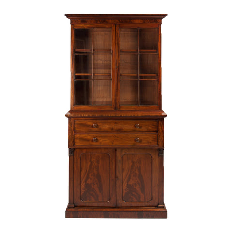 An Anglo Indian 4 door Linen Press / Cabinet