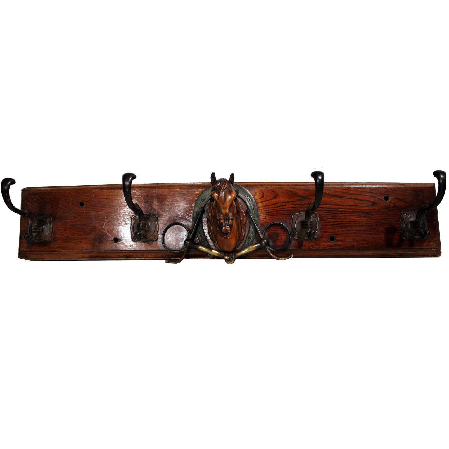 Arab horse-head Coat Rack
