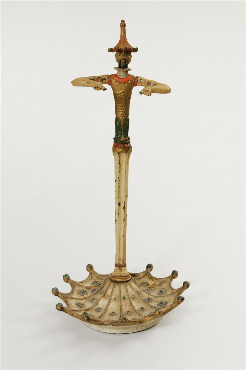 English polychrome-painted Umbrella Stand
