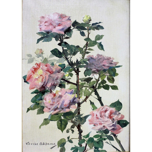 Still life roses by Louise Abbéma