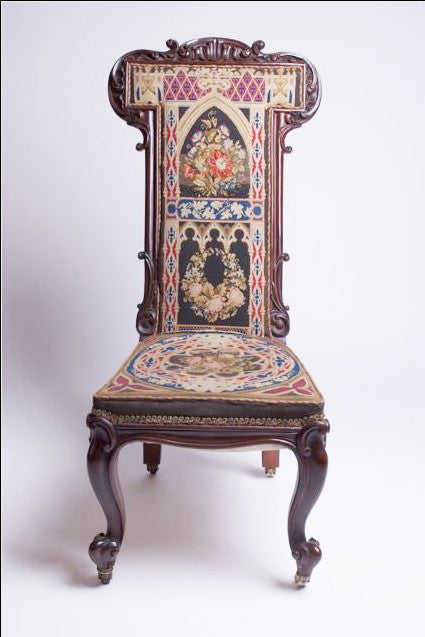 Victorian Brazilian rosewood Prayer Chair (Prie-dieu)
