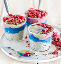 blue spirulina yogurt