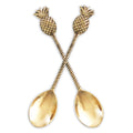 brass pineapple spoon