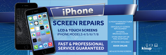 Phone or Tablet Repairs & Cases | AfterPay Available – Kixup