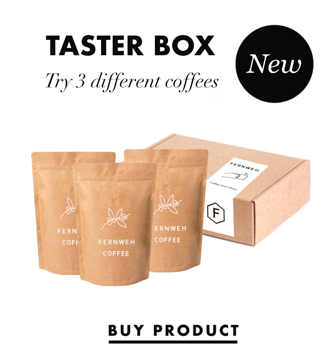 Fernweh Coffee Box Subscription New Zealand