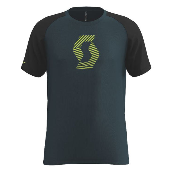 Scott Tee Mens 10 Icon Raglan var col - Pitcrew.nz