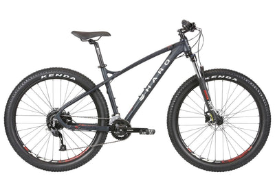 2020 Haro Double Peak Trail Plus 27.5 Matte Blackberry - Pitcrew.nz