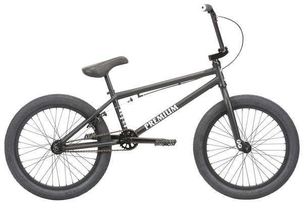 2020 Premium Subway 21tt Matte Black BMX - Pitcrew.nz
