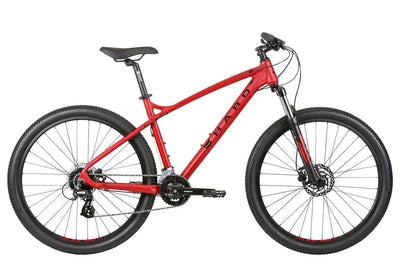 2020 Haro Double Peak 27.5 Sport Matte Bright Red - Pitcrew.nz