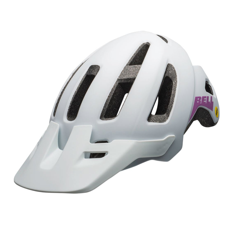 Bell Nomad Womens Mips Helmet White / Purple - Pitcrew.nz