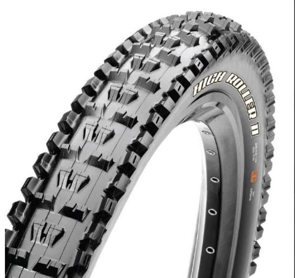 Maxxis Highroller 2 27.5 x 2.40 Tyre 3C Maxx Grip 2 Ply - Pitcrew.nz