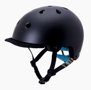 Kali Saha Vibe Helmet Matt Black/Blue - Pitcrew.nz