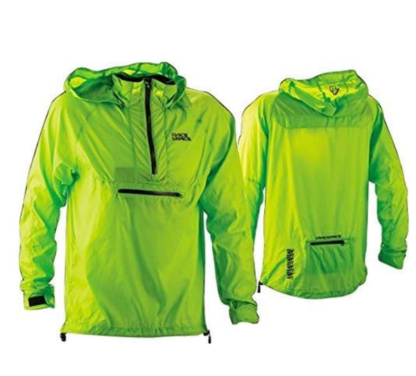 RaceFace Nano Packable Jacket Lime - Pitcrew.nz