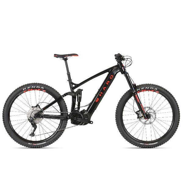 2021 Haro Shift i/O 5 Black Neon Red - Pitcrew.nz