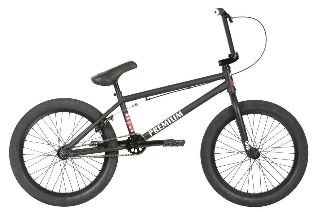 2019 Premium Subway BMX Matte Black 21TT - Pitcrew.nz