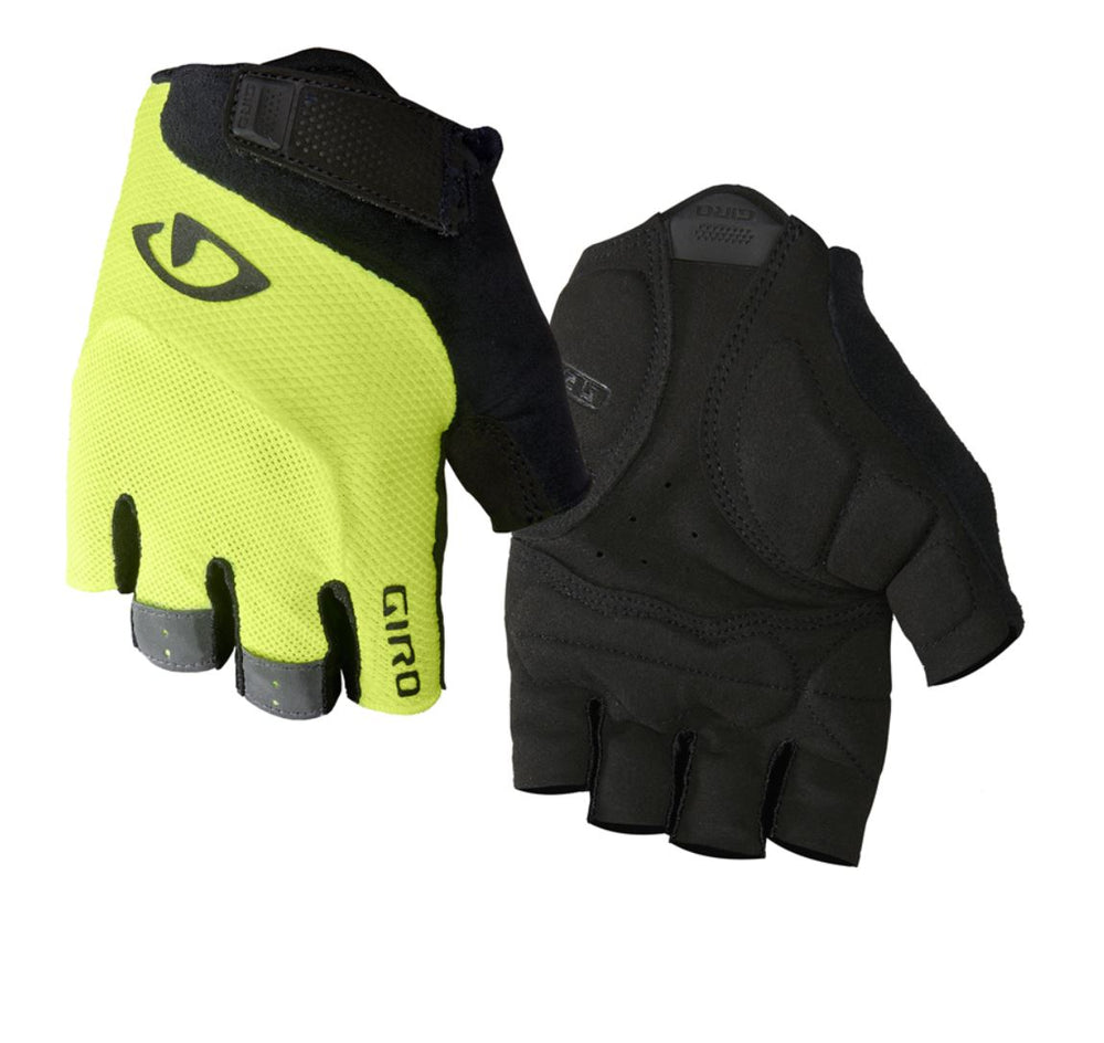 Giro Bravo Gel HL Gloves Yellow / Black - Pitcrew.nz