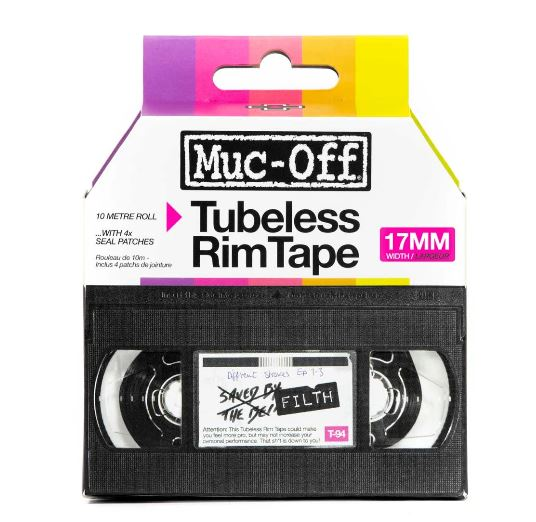 Muc Off Rim Tape 10m Roll 17mm - Pitcrew.nz