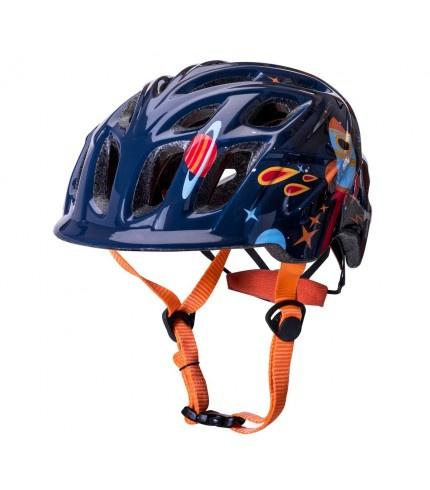Kali Chakra Child Galaxy Helmet Blu/Org - Pitcrew.nz