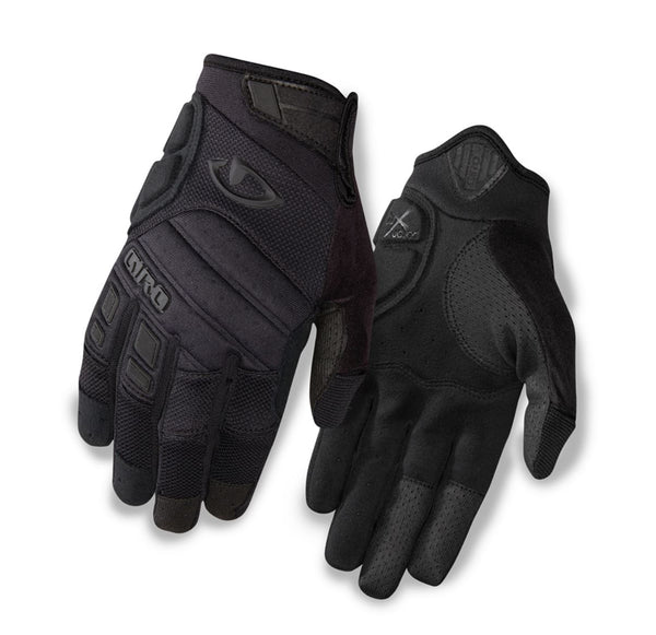 Giro Xen Full Finger Gloves Black - Pitcrew.nz