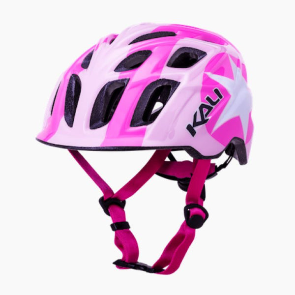 Kali Child Star Helmet Bright Pink - Pitcrew.nz