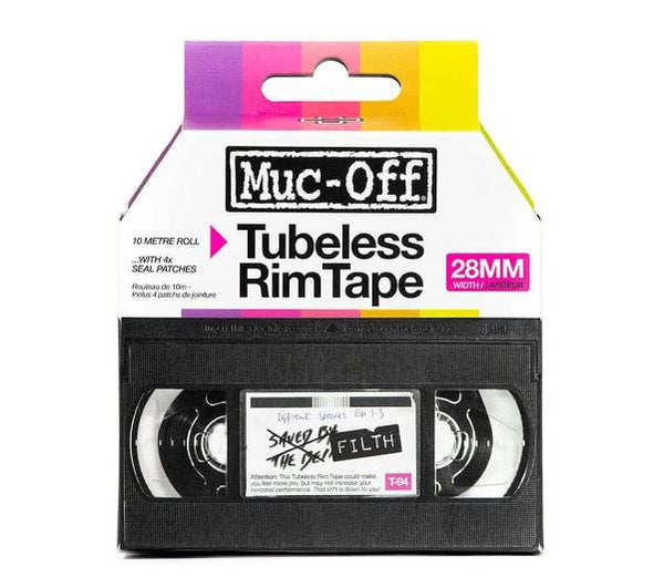 Muc Off Rim Tape 10m roll 28mm - Pitcrew.nz