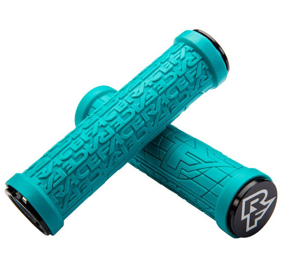 Raceface Grippler 30m Lock On Grips Turquoise - Pitcrew.nz