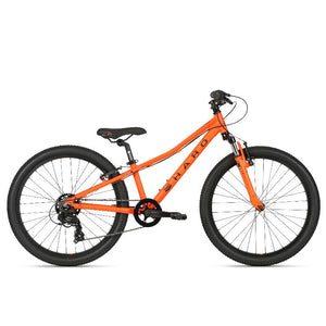 2021 Haro Flightline 24 Matte Orange / Black Bikes Haro