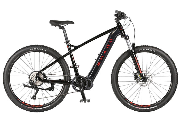 2020 Haro Double Peak i/O electric Black/Red - Pitcrew.nz