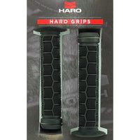 Haro Team Flanged BMX Grips Black - Pitcrew.nz