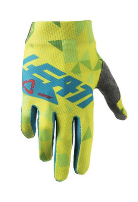 Leatt GPX 1.5 Junior '18 BMX Gloves Lime/Teal