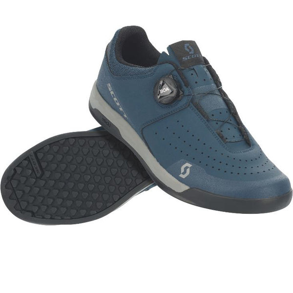 Scott Sport Volt Shoes Blue Black - Pitcrew.nz