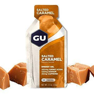Gu Energy Gel Salted Caramel - Pitcrew.nz