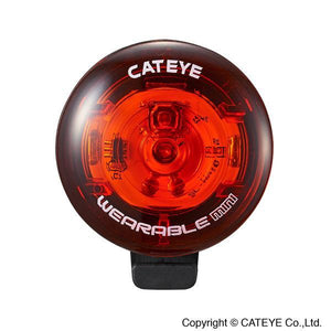 Cateye CTY Wearable Mini Rear Light - Pitcrew.nz