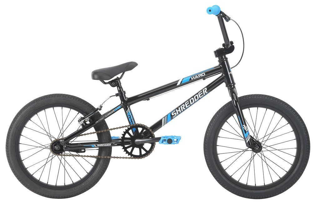 "2019 Haro Shredder 18"" Gloss Black BMX"