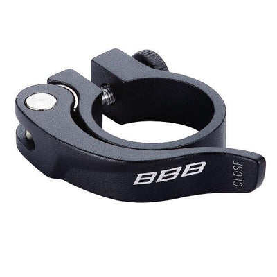 BBB Smooth Lever Seat Post Clamp Q/R 31.8 BLK - Pitcrew.nz