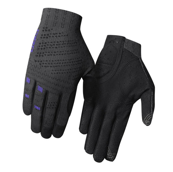 Giro Xnetic Trail Womens Gloves Ti/Purple Bike Parts Giro M