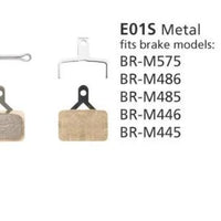Shimano EO1S Disc Brake Pads Metallic - Pitcrew.nz
