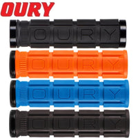 OURY V2 Single Lock On Grips Var Col - Pitcrew.nz